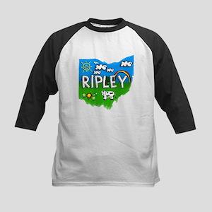 Ripley, Ohio. Kid Themed Kids Baseball Jersey