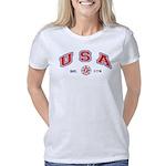 USA Firefighter Women's Classic T-Shirt
