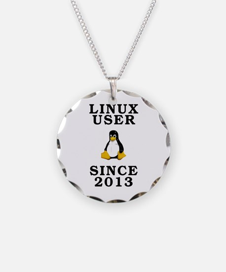 Linux user since 2013 - Necklace