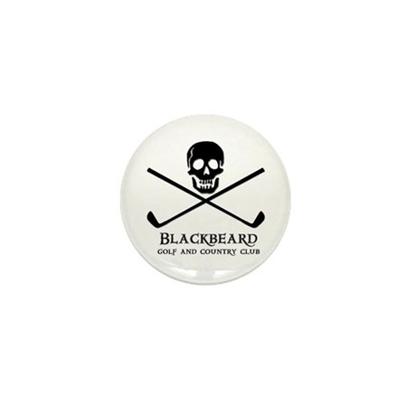 Blackbeard Golf Country Club Mini Button (10 pack)