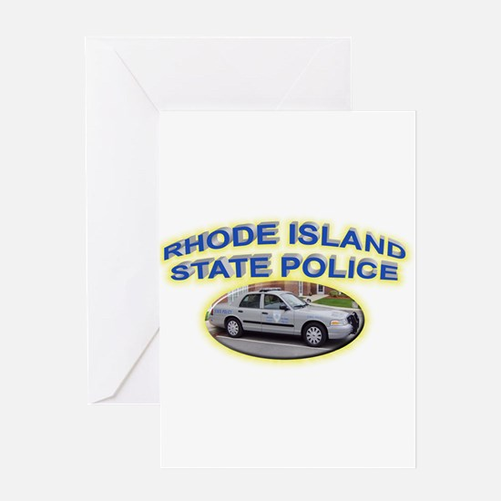 Rhode Island State Police Greeting Card
