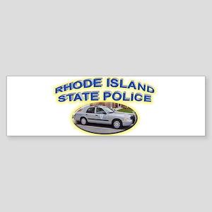 Rhode Island State Police Sticker (Bumper)