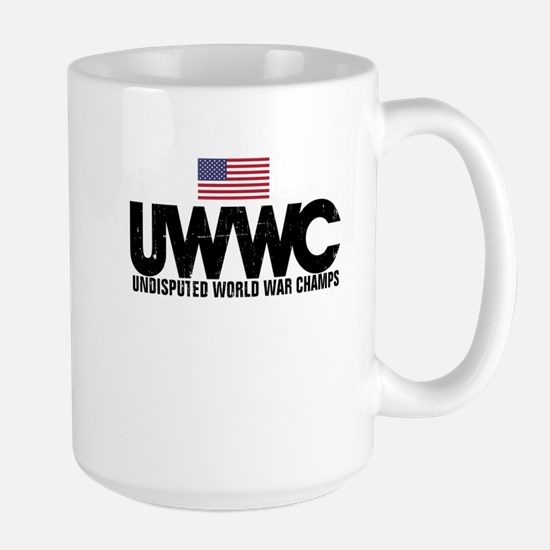 World War Champs Large Mug