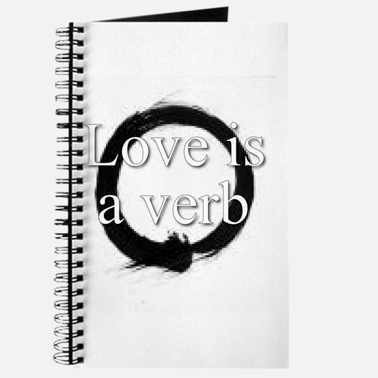 Love is a verb. Journal