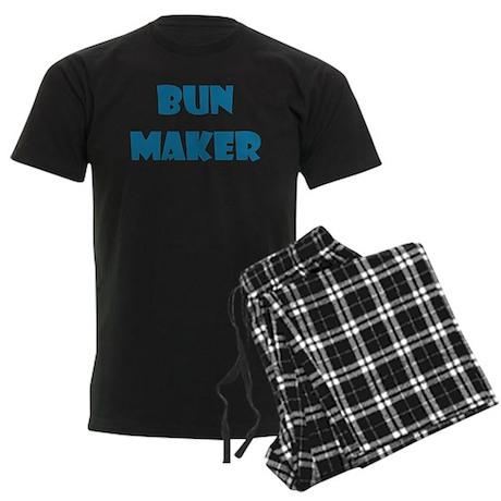 BUN MAKER FUNNY MATERNITY DAD Men's Dark Pajamas