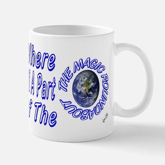 where all part of the magic r Mug