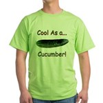 Cool Cucumber! Green T-Shirt