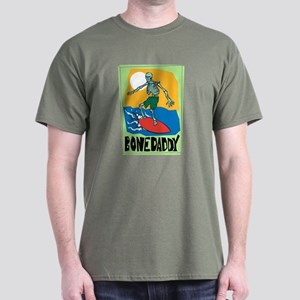 Bone Daddy Surfer Dark T-Shirt