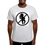 AntiBaby Ash Grey T-Shirt