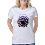 BG-Spiral LILa 1200x1440 Women's Classic T-Shirt