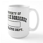 Property of Dogue de Bordeaux Large Mug