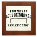 Property of Dogue de Bordeaux Framed Tile
