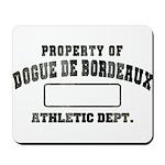 Property of Dogue de Bordeaux Mousepad