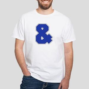 """Ampersand"" White T-shirt"