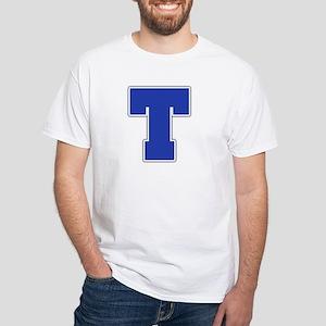 """""""Letter T"""" White T-shirt"""