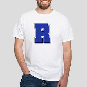 """""""Letter R"""" White T-shirt"""