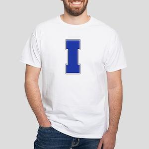 """""""Letter I"""" White T-shirt"""