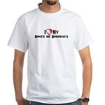 I heart my Dogue de Bordeaux White T-Shirt
