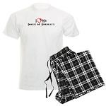 I heart my Dogue de Bordeaux Men's Light Pajamas