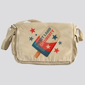 Ice Cream Pop 4th Messenger Bag