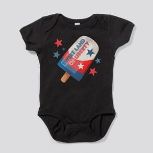 Ice Cream Pop 4th Baby Bodysuit