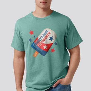 Ice Cream Pop 4th Mens Comfort Colors Shirt