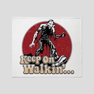 Keep On Walkin' Throw Blanket