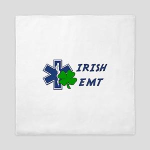 Irish EMT Queen Duvet