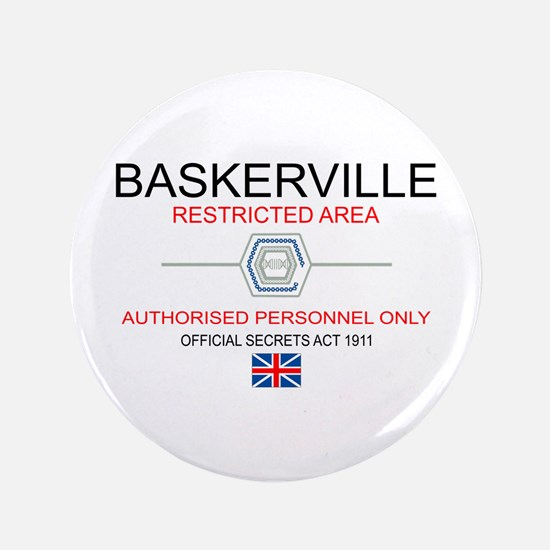 "Hounds of Baskerville 3.5"" Button"