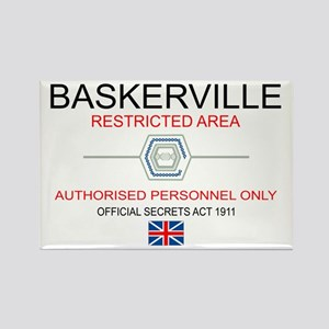Hounds of Baskerville Rectangle Magnet