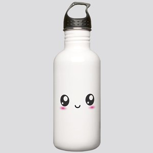 Japanese Anime Smiley Stainless Water Bottle 1.0L
