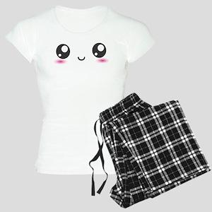 Japanese Anime Smiley Women's Light Pajamas