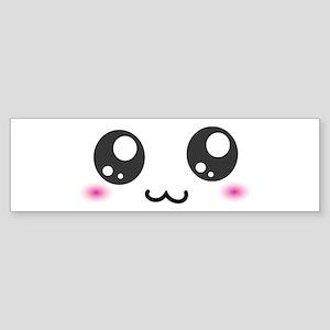 Japanese Emoticon Emoji Smile Sticker (Bumper)