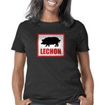lechonCMYKred Women's Classic T-Shirt