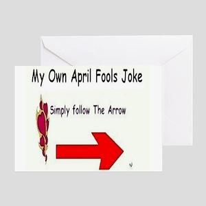 April Fools Joke Greeting Card