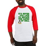 Escape the gates of hell - Baseball Jersey