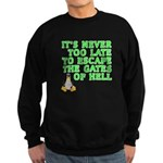 Escape the gates of hell - Sweatshirt (dark)