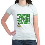 Escape the gates of hell - Jr. Ringer T-Shirt