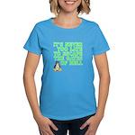 Escape the gates of hell - Women's Dark T-Shirt