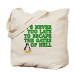 Escape the gates of hell - Tote Bag