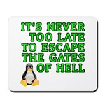 Escape the gates of hell - Mousepad