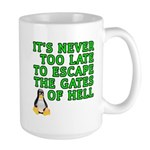 Escape the gates of hell - Large Mug