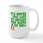 Escape the gates of hell - Large Mug