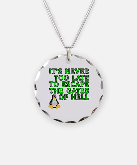 Escape the gates of hell - Necklace