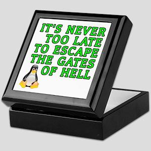 Escape the gates of hell - Keepsake Box