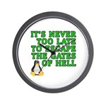 Escape the gates of hell - Wall Clock