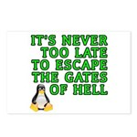 Escape the gates of hell - Postcards (Package of 8