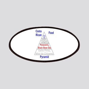 Costa Rican Food Pyramid Patches