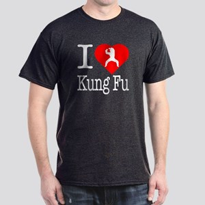I Love Kung Fu Dark T-Shirt