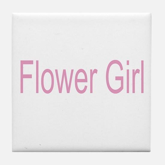 Flower Girl Gifts/Weddi Tile Coaster